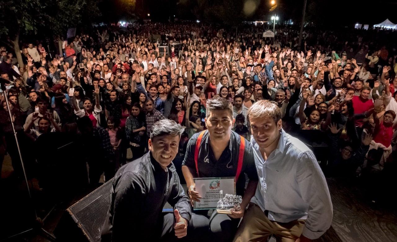 Los Reyes del Cuarteto cerraron el Pirovano Canta 2018