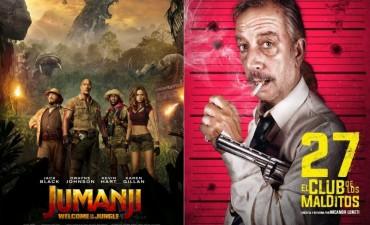 Jumanji en la Selva y 27 el Club de los malditos ya llegó a los cines