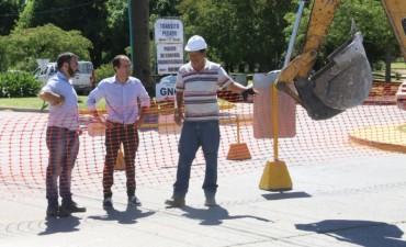 Comenzó la segunda etapa de la reparación del pavimento en la avenida Calfucurá