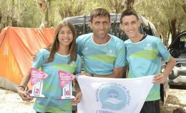 Natatorio Municipal: Dos nadadores de Bolívar ganaron en Trenque Lauquen