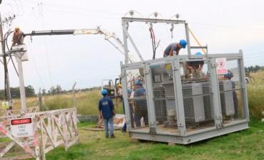 Para paliar la situación de cortes de energía, llegó el tercer generador