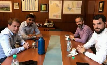 Reunión con eje en el foro de intendentes de Olavarría