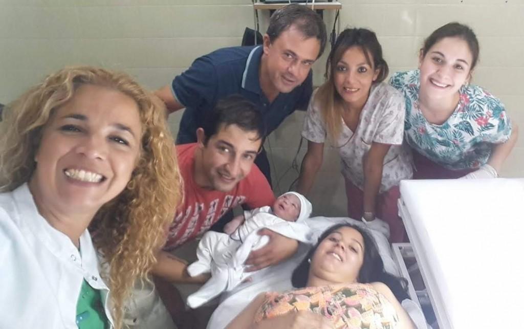 Nació el primer bebé del año en Bolívar