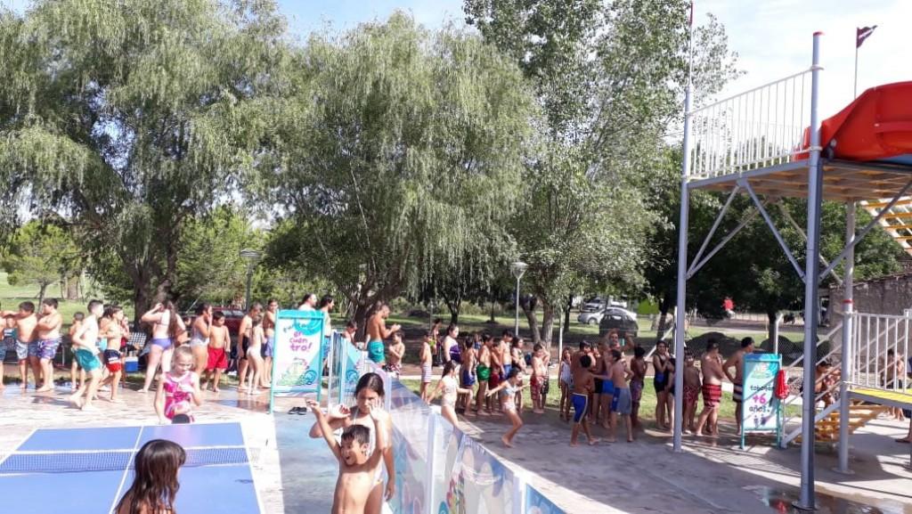 Primer fin de semana en el Parque Acuático Municipal