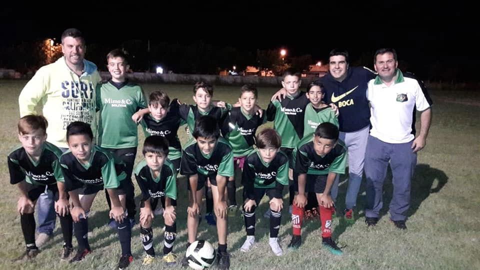 El Baby Futbol de Casariego tuvo su primera fecha en el predio de Club Talleres