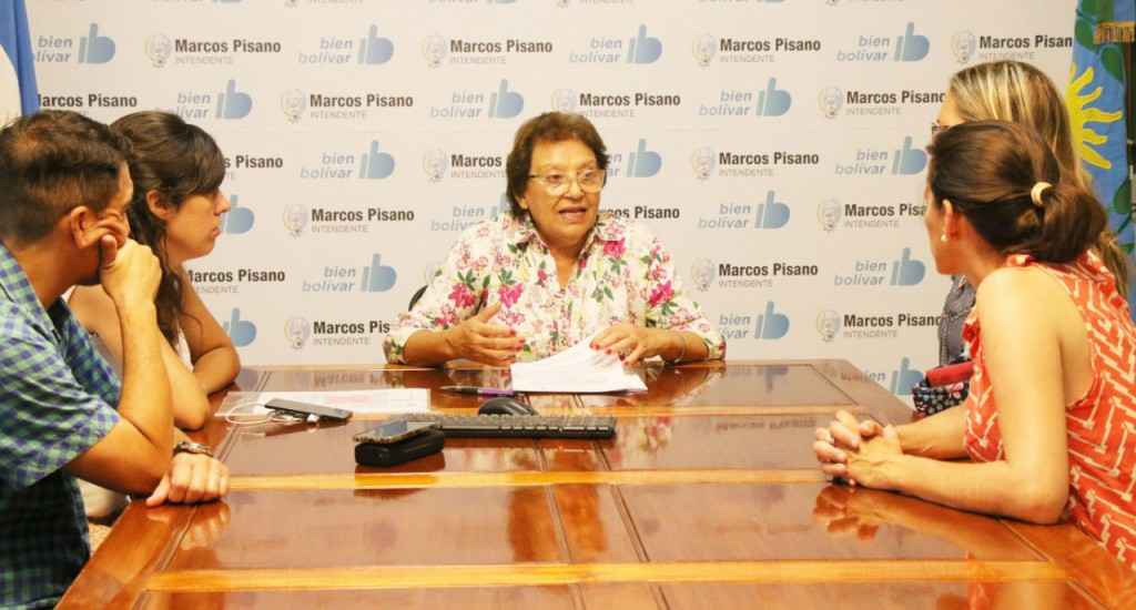 Natiello firmó un convenio con la E.P N.°2