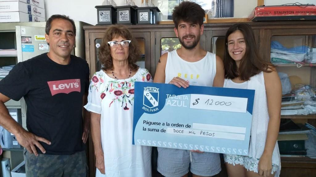 Entrega de premios de la Tarjeta Azul de Club Independiente