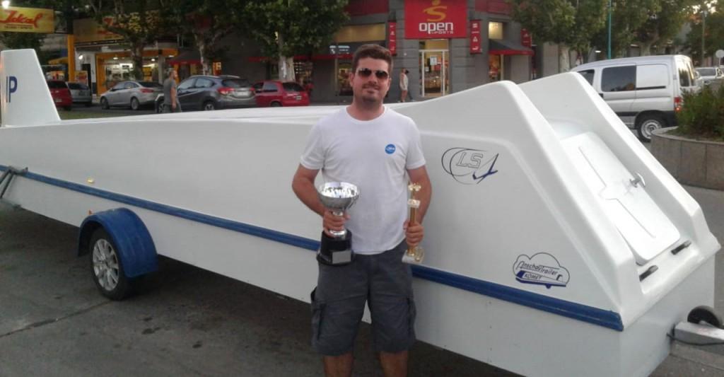 Matías Lanzinetti se consagró Campeón Nacional de Vuelo a Vela en Clase Club