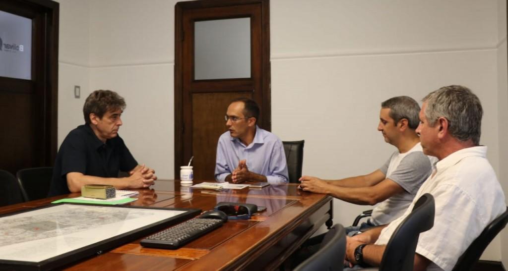 Pisano recibió el pasado martes al Colegio de Arquitectos