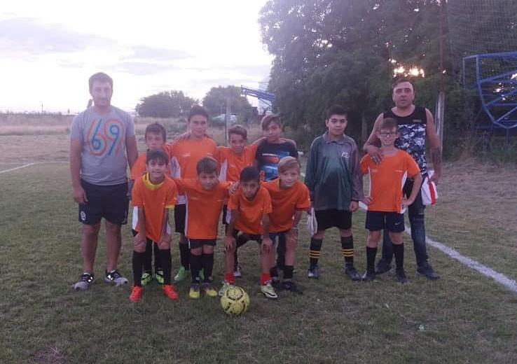 El Baby Futbol de Casariego ya lleva 5 fechas disputadas en el predio de Club Talleres