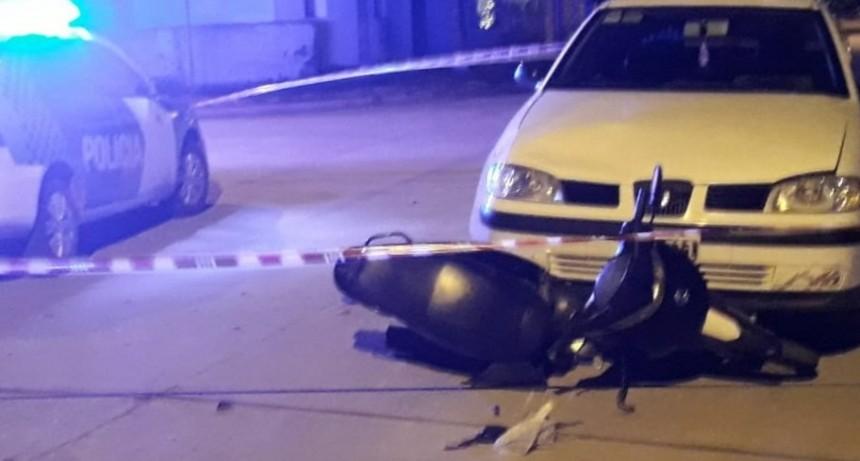 Dos jóvenes fueron hospitalizadas a raíz de un accidente de tránsito en Villa Diamante