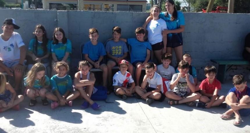 El Natatorio Municipal participó de la primera competencia de verano