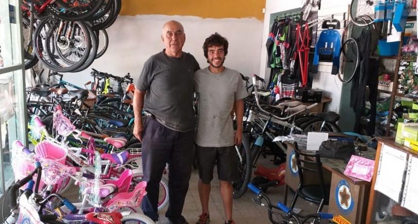 Bicicletería El Paisano preparó un gran concurso para participar por un regalo para reyes