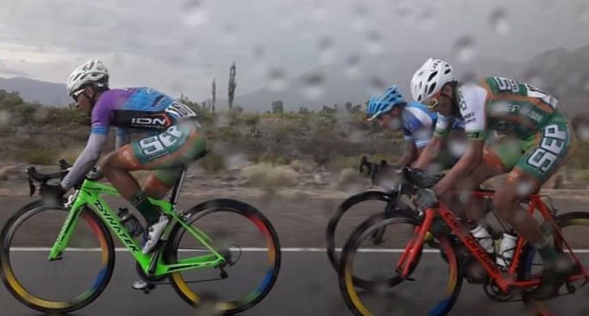 Juan Pablo Dotti fue parte de la 17º edición del Giro del Sol en San Juan