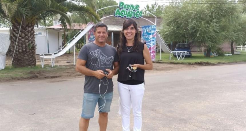 Se inaugurará el Parque Acuático en el Parque Las Acollaradas