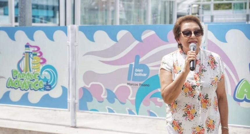 Ana Natiello dejo inaugurado el Parque Acuático Municipal