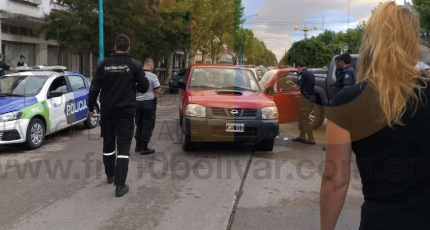 Un pequeño fue trasladado al hospital luego de un impacto en Avenida San Martin