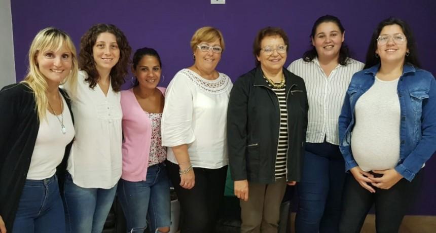 La intendenta interina Ana Natiello mantuvo una reunión en Derechos Humanos
