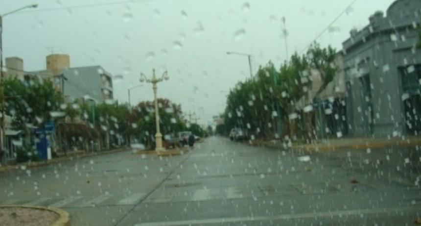 Registro de lluvias: Entre 7 y 15 mm registrados en Bolívar y la zona