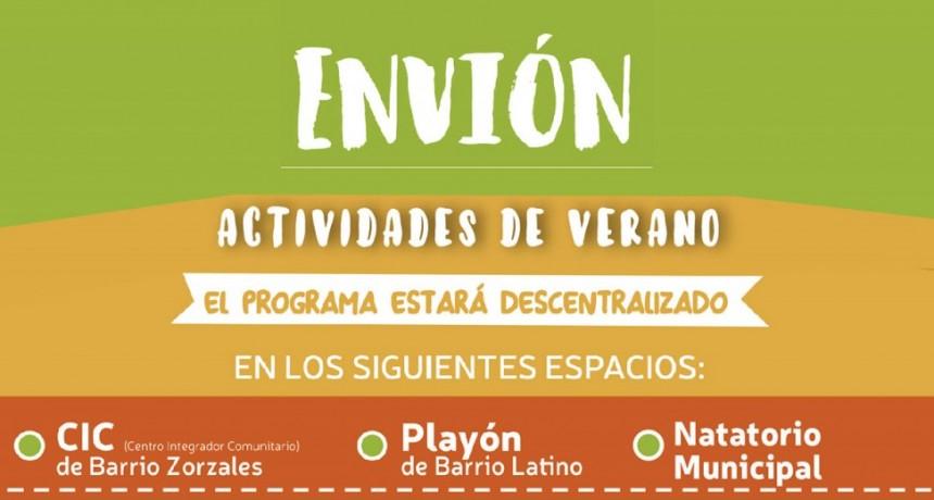 ENVIÓN presentó los talleres para el ciclo 2019