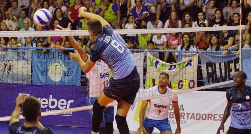 Copa Libertadores De Voleibol: Otro gran triunfo de Bolívar Vóley para ilusionarse con el Final Four