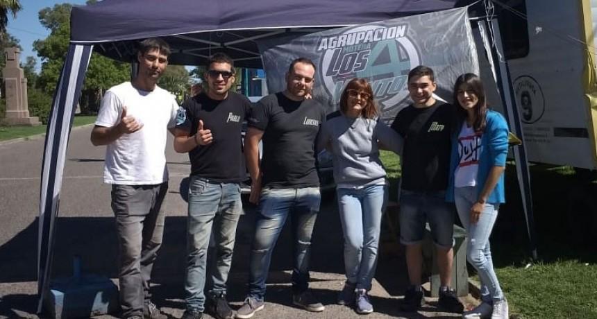 El 2º Moto Encuentro ya esta en marcha en el Parque Las Acollaradas