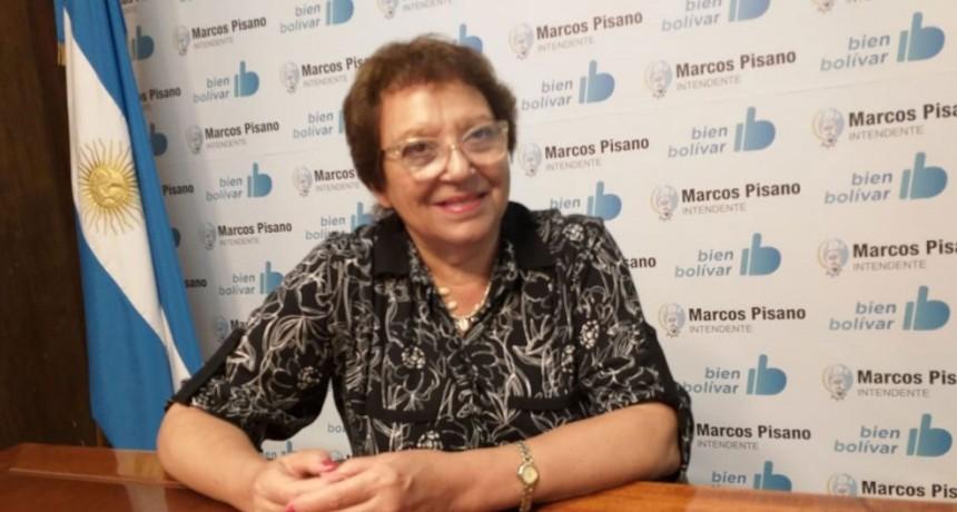 Ana Natiello: 'Quiero agradecerles a los vecinos el acompañamiento que recibí en estos días que me ha hecho tanto bien'