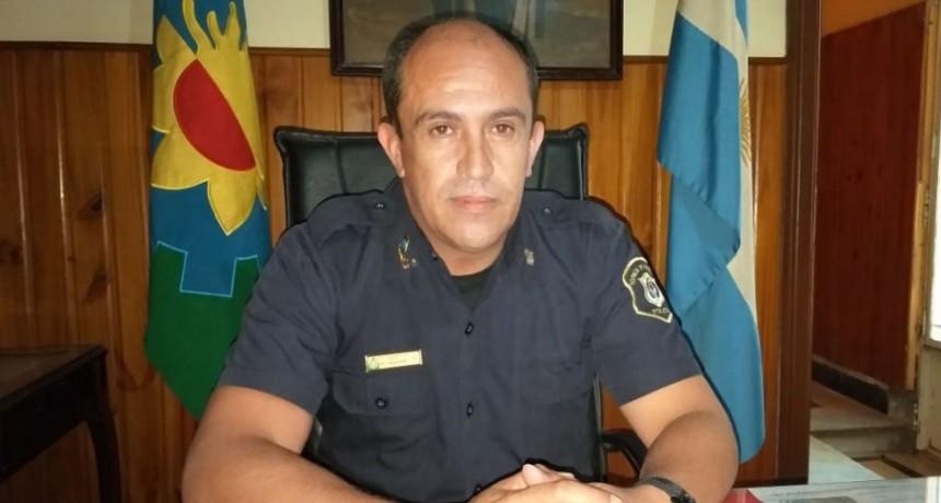 Comisario Ismael Delgado: 'De a poco nos vamos organizando, estamos armando el nuevo equipo de trabajo'