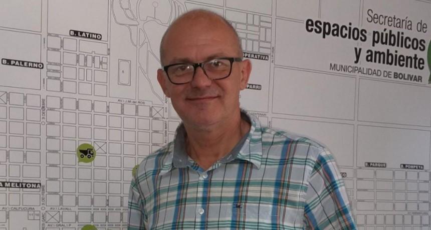 Mariano Sarraua: 'Así como hay mucha gente que quiere un Bolívar limpia, hay otra gente a la que no le importa'