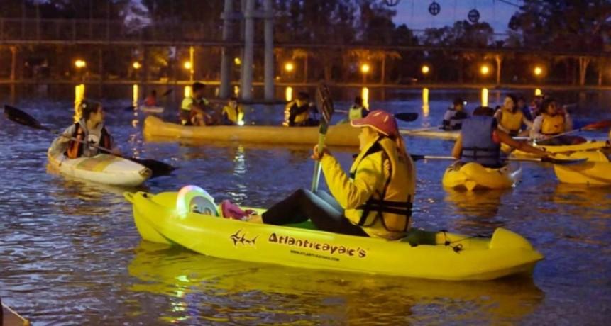 Se realizó la primera flotada nocturna de verano