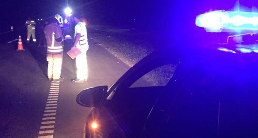 Choque en la 205: murió un motociclista oriundo de Roque Pérez