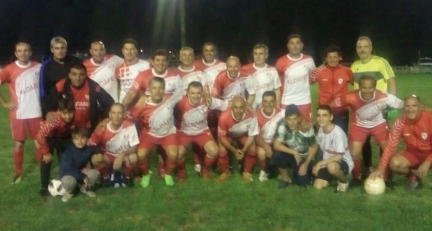 Casariego se consolida como puntero en el torneo de futbol senior mayores de 48