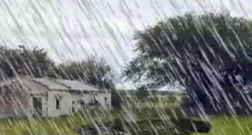 Se registraron ente 5 y 40 mm en la lluvia del pasado martes 22
