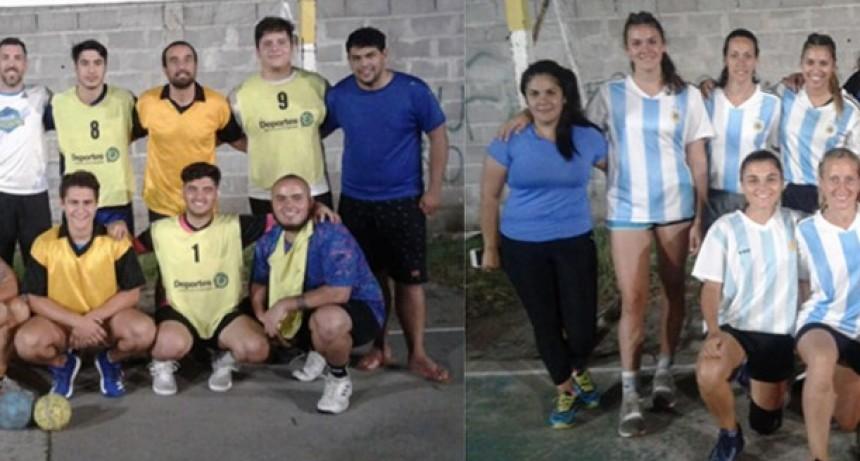 El torneo comercial de Handball consagró a La 98 deportiva como campeones en caballeros y a Grupo Neo en damas