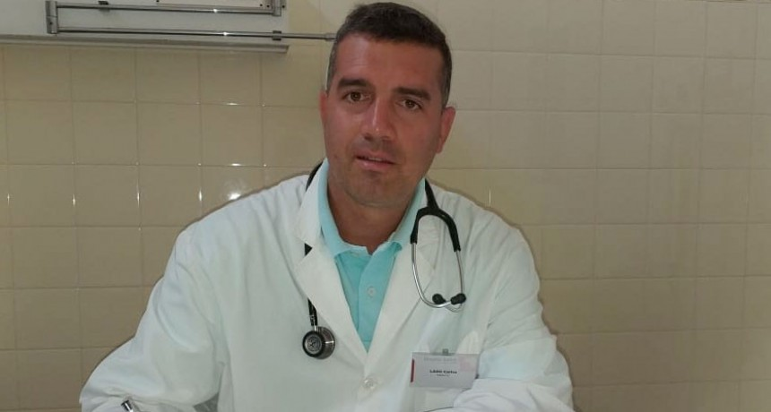Carlos Laso: 'Lo ideal para estos días es mantenerse hidratado, evitar la sudoración excesiva y no automedicarse'