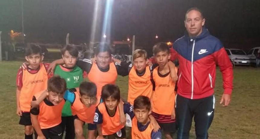 La 6º fecha del Baby Futbol de Casariego colmo de goles el predio de Club Talleres