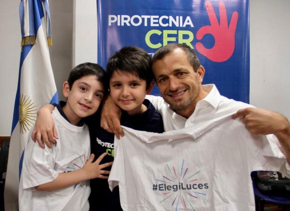 Exitosa campaña de Pirotecnia Cero