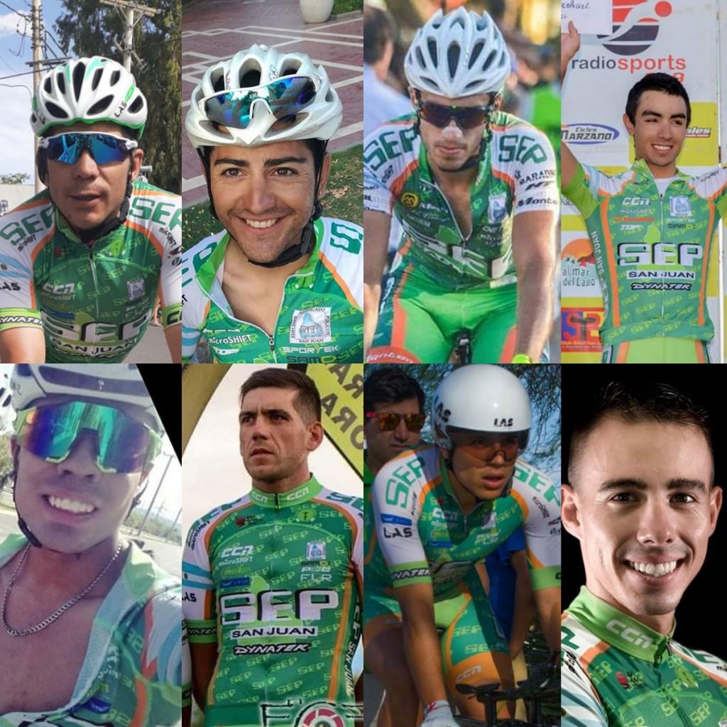 Ciclismo: El SEP San Juan se prepara para El Giro del Sol