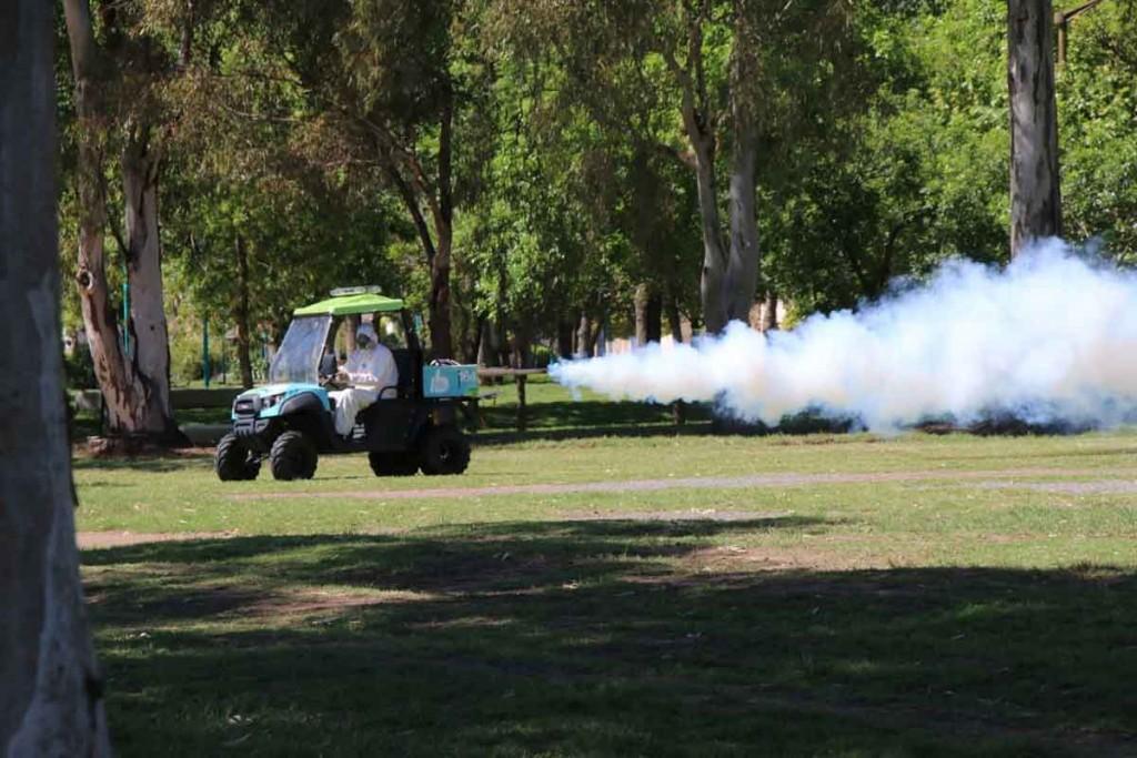 Continúa la campaña de pulverización contra el dengue, chikungunya y zika