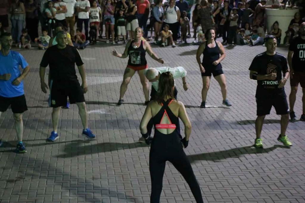 Pasó la primera noche de Verano Activo en el Centro Cívico