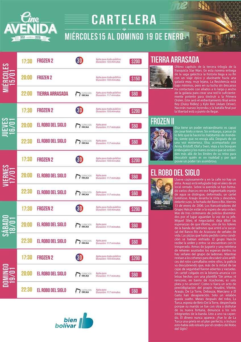 Super Estreno en el Cine Avenida: 'El Robo del Siglo'