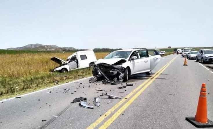 Fuerte accidente con varios heridos cerca de Tandil