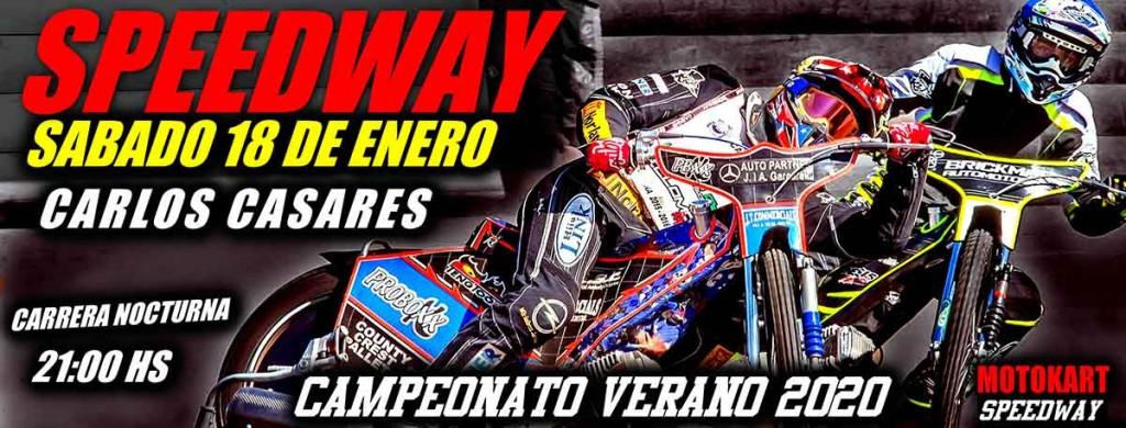 2º fecha del campeonato de verano de Speedway en Carlos Casares