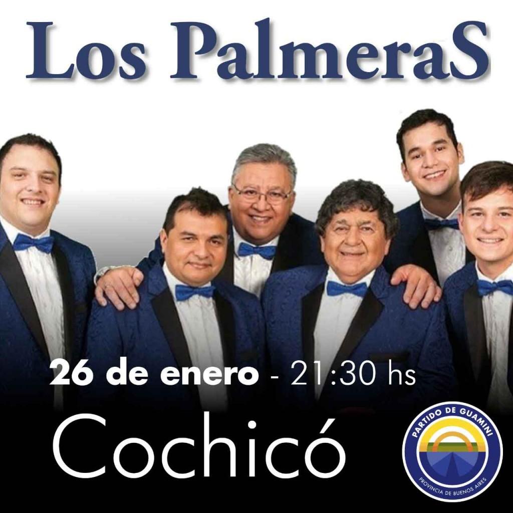 """El domingo 26 el show de 'Los Palmeras"""" llega a Cochicó"""