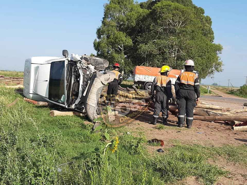 Tremendo accidente en Ruta 65 km 361; No hubo víctimas