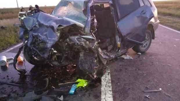 Ruta 188: Violento choque frontal dejo como saldo tres víctimas fatales