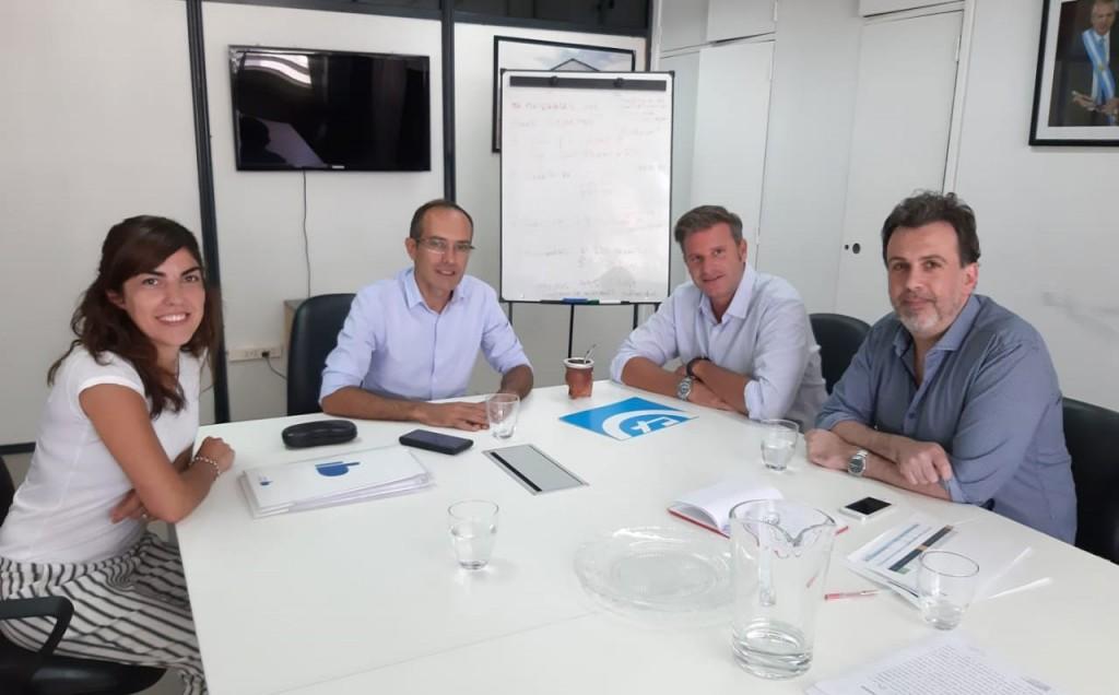 El intendente Pisano se reunió con autoridades de la Secretaría de Desarrollo Territorial