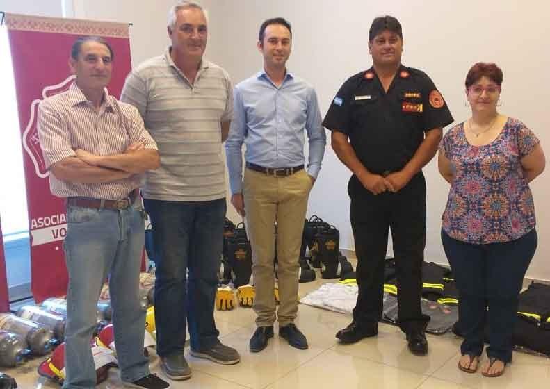 Canepare: 'Todas las inversiones son hechas para prestar el servicio de la mejor manera y que el bombero se sienta seguro'
