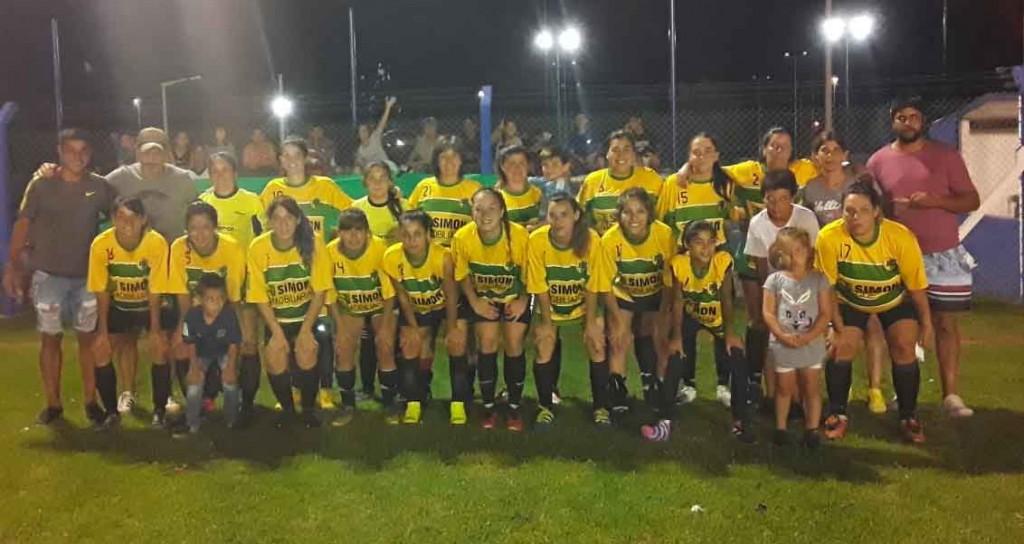Una goleada y un empate en la 4º fecha del Torneo de los Barrios de Futbol Femenino