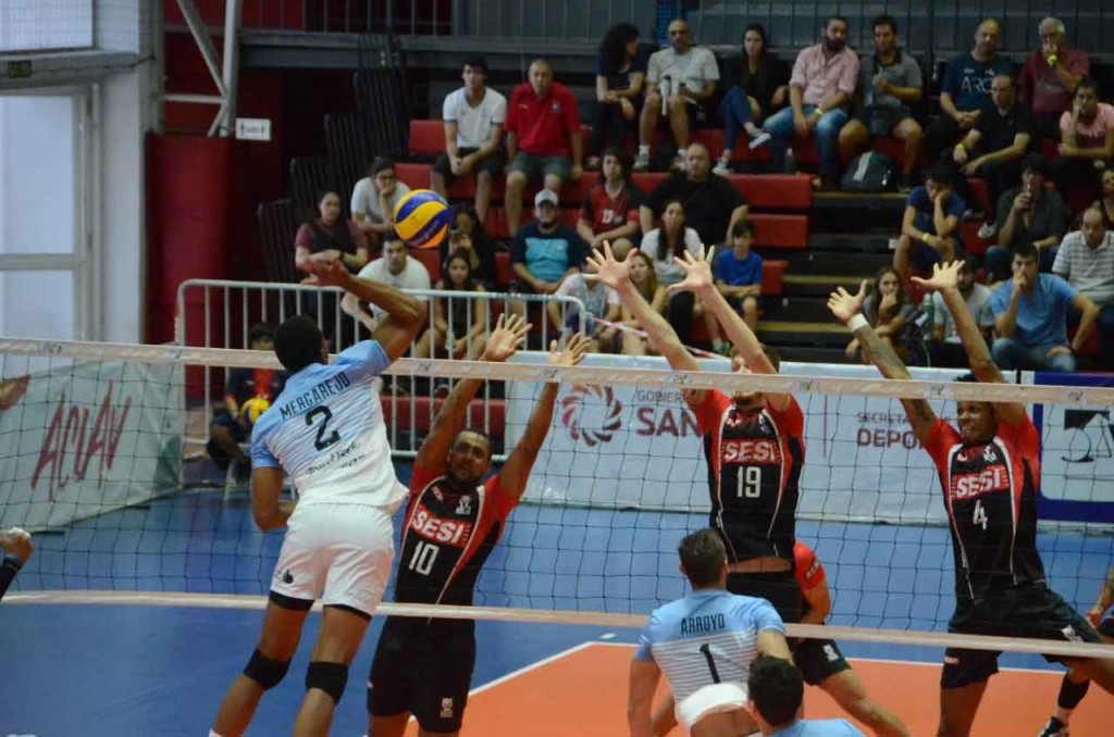 Copa Libertadores de Voleibol: Bolívar Voley venció a SESI, y enfrenta a Obras en semifinales